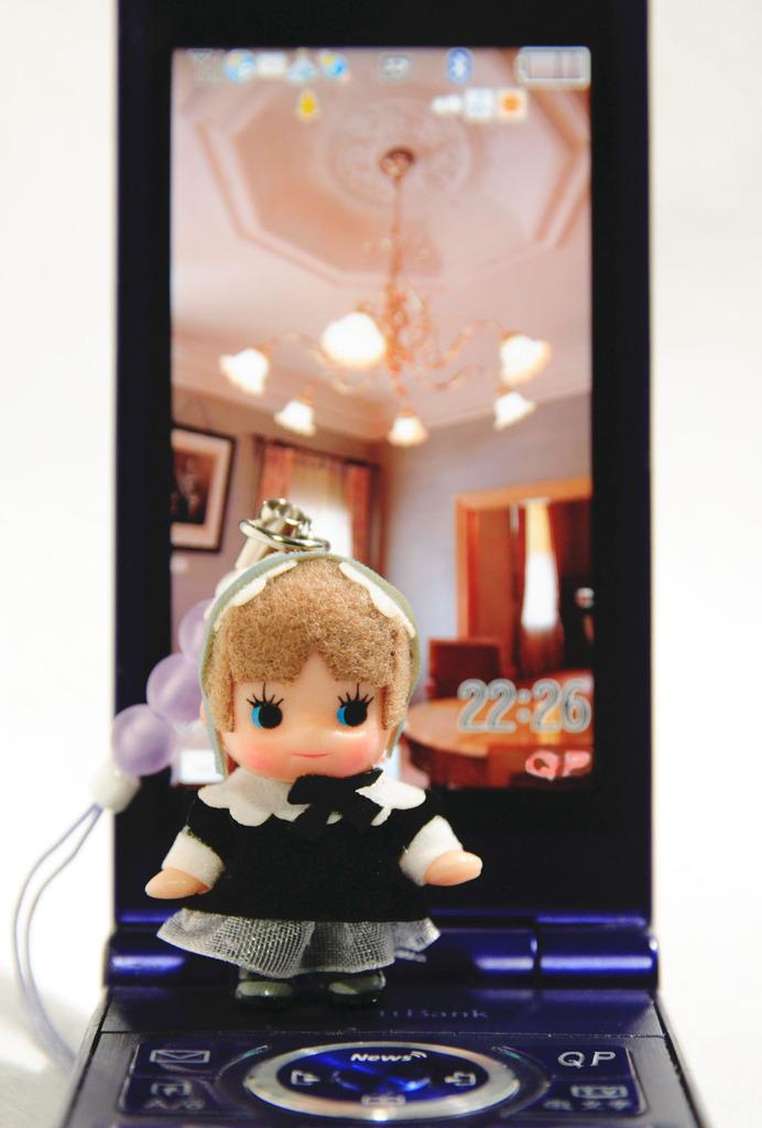 モデルQP 背景紙携帯