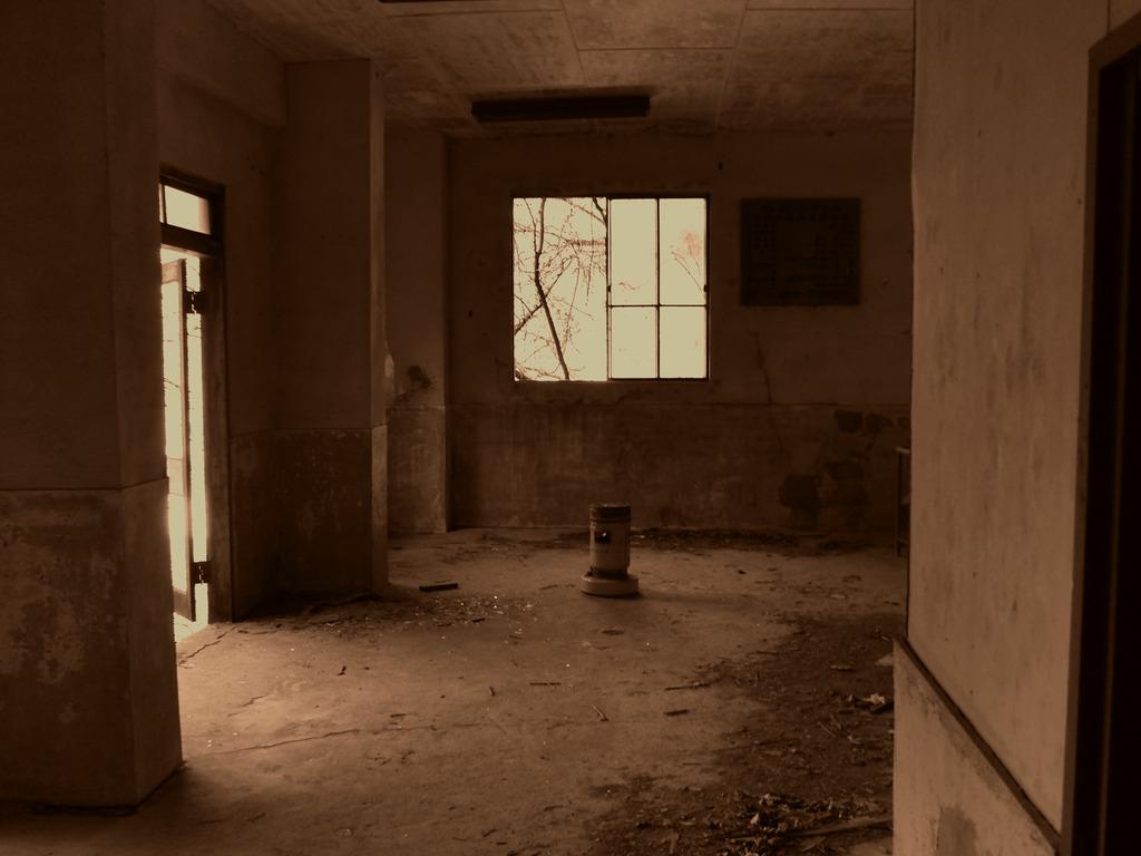 かつて待合室だった物