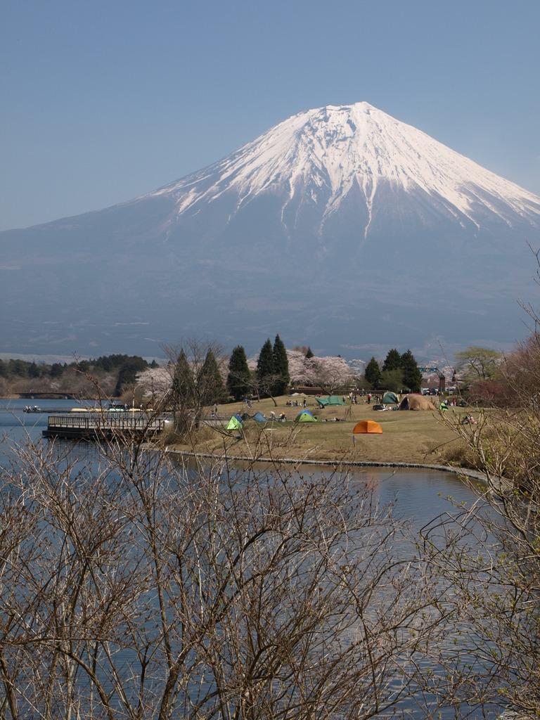 田貫湖畔 長閑なキャンプ場