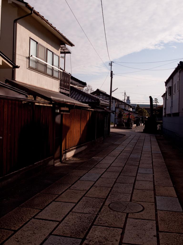 秋の光 (松本路地裏スナップ10)
