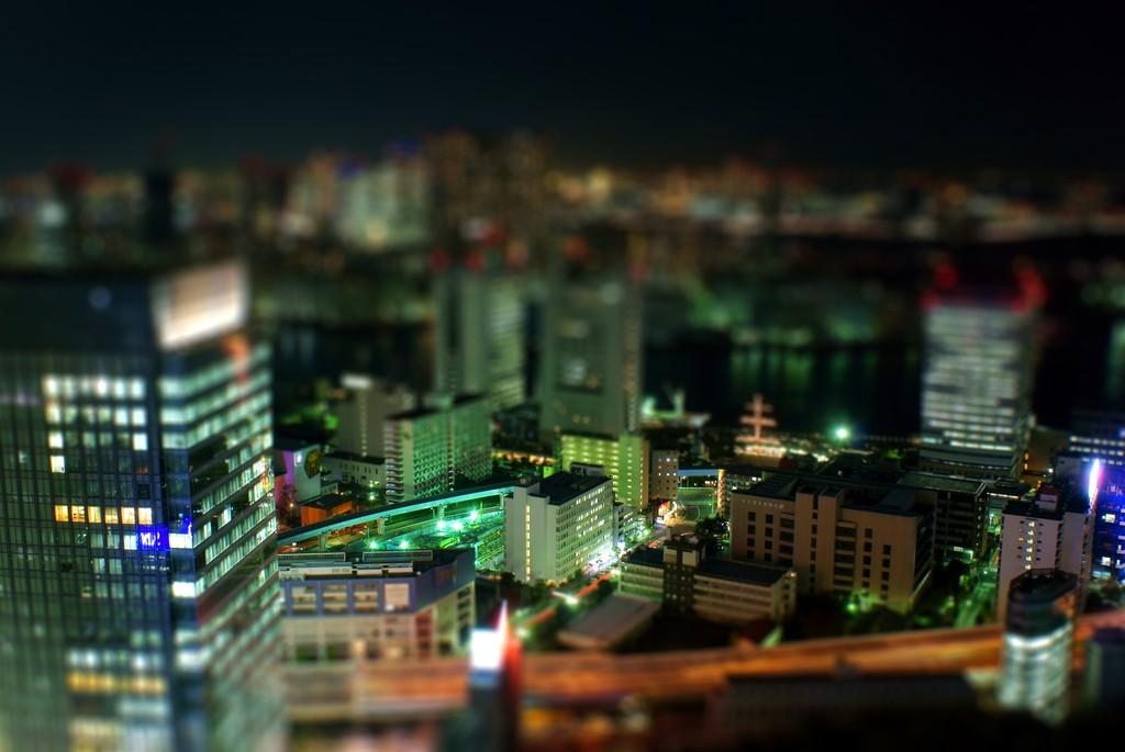 ミニチュア夜景 ~その2~