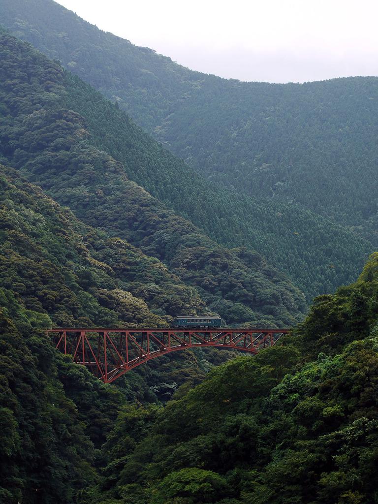 南阿蘇鉄道-第一白川橋梁 part2