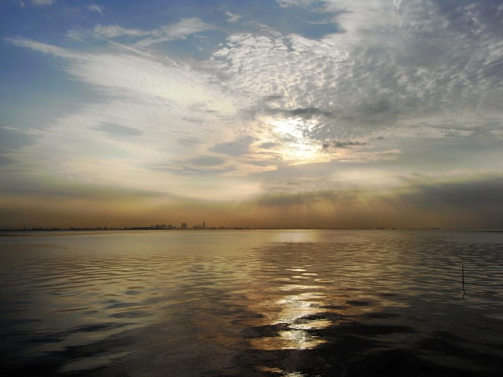 市川塩浜の朝 2