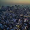 聖路加タワーからの夕景#2