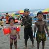 砂のウェットスーツ
