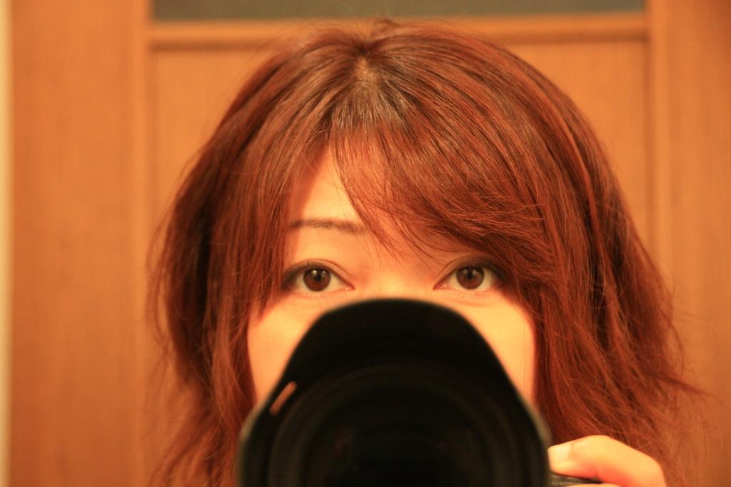 カメラのマスク?だはは~^^;
