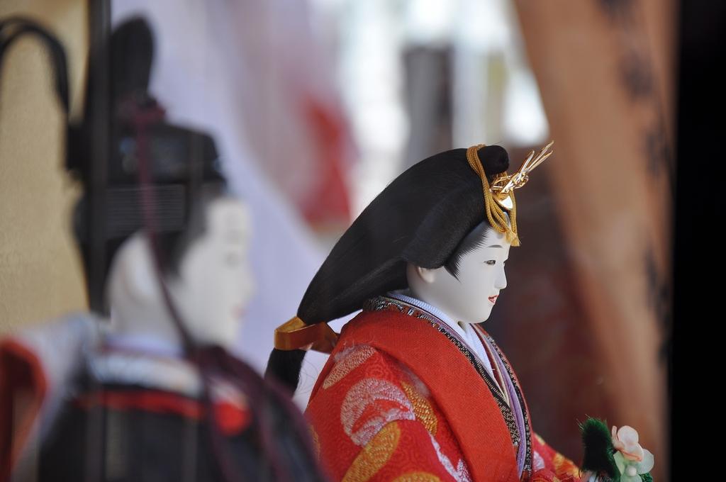 生田神社*夫婦雛