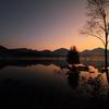 幻の夜明け ~小田代湿原湖~