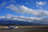雲に隠れるMt.Shasta