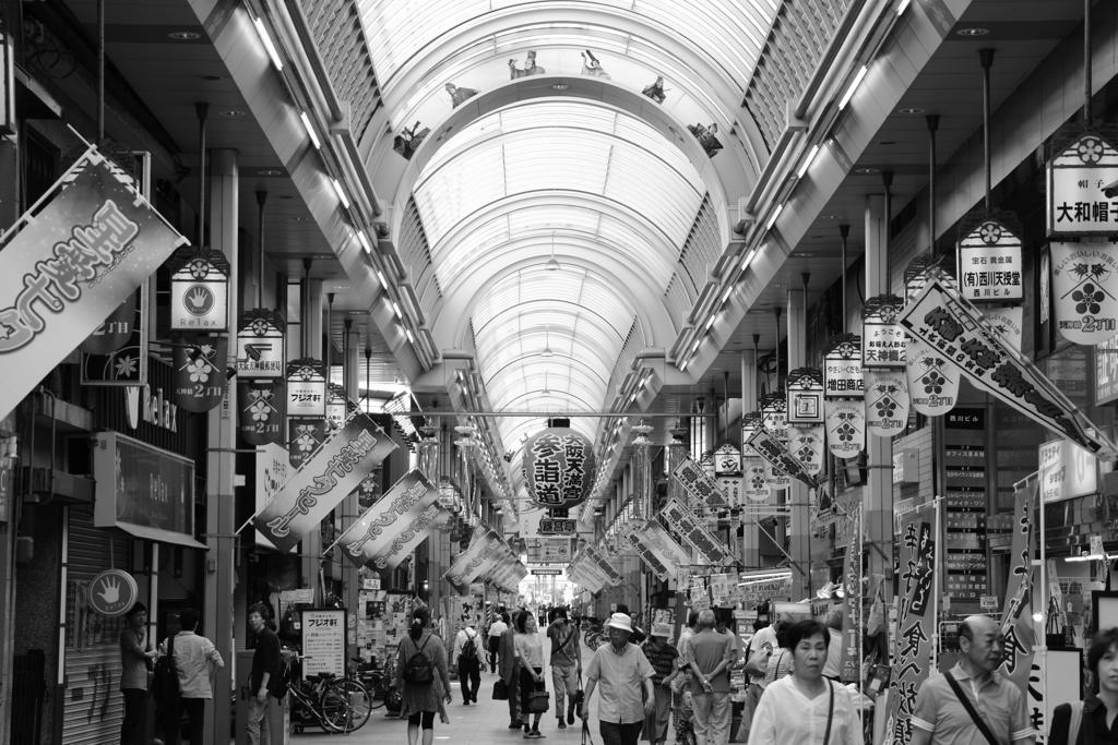 大阪天満宮参詣道