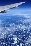 ハドソン湾上空