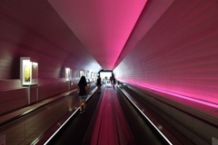 博物館へのトンネル