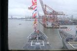 艦橋からの景色