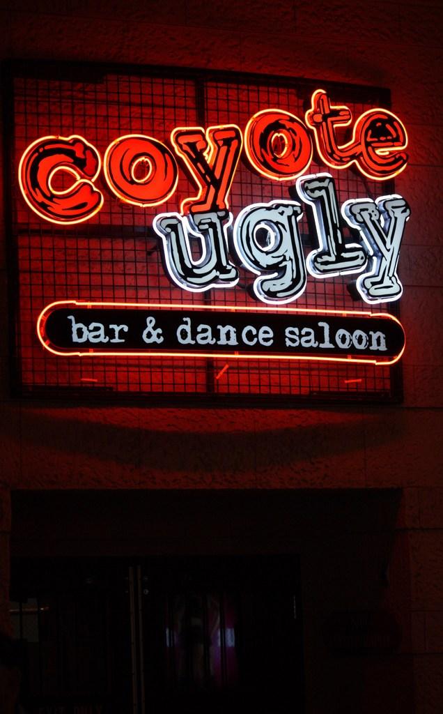 coyote ugly in Las Vegas