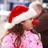 CANON Canon EOS Kiss X2で撮影した人物(赤鼻の少女)の写真(画像)