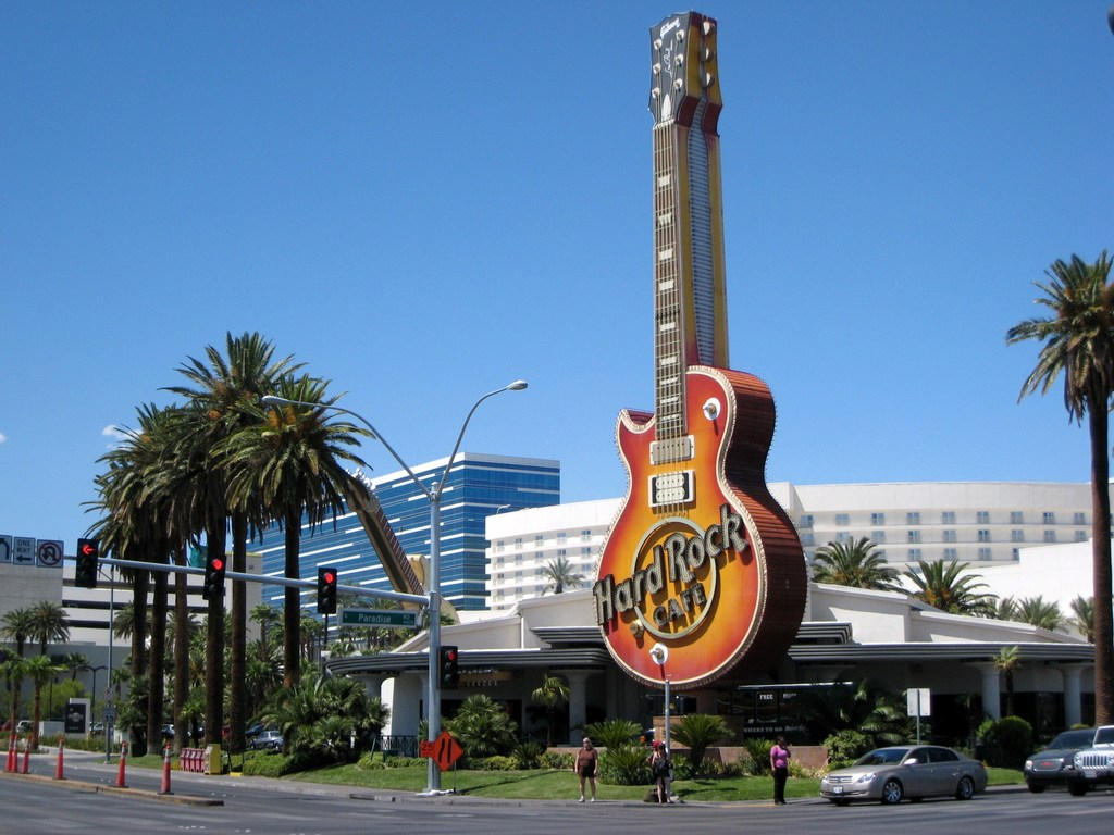 Hard Rock cafe in Las Vegas