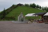 丘の上の休憩所