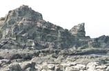 千畳敷の岩山