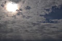 湘南海岸の空