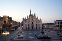 Early morning in Milan