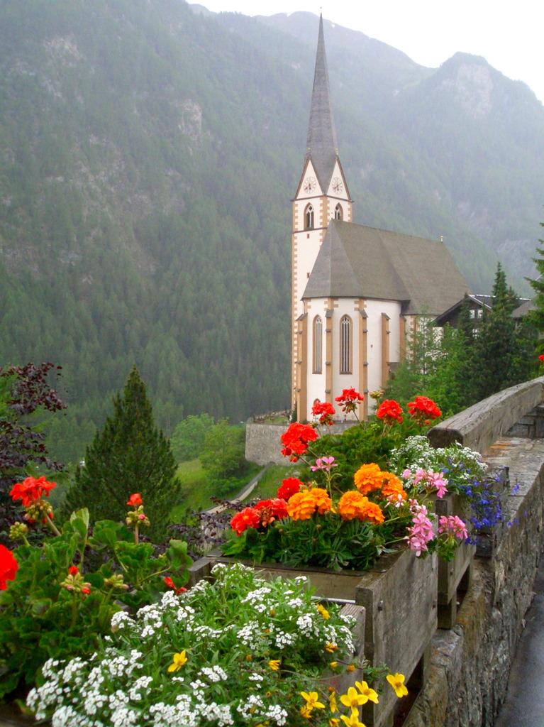 谷間の教会
