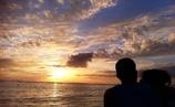 夕陽に魅せられて