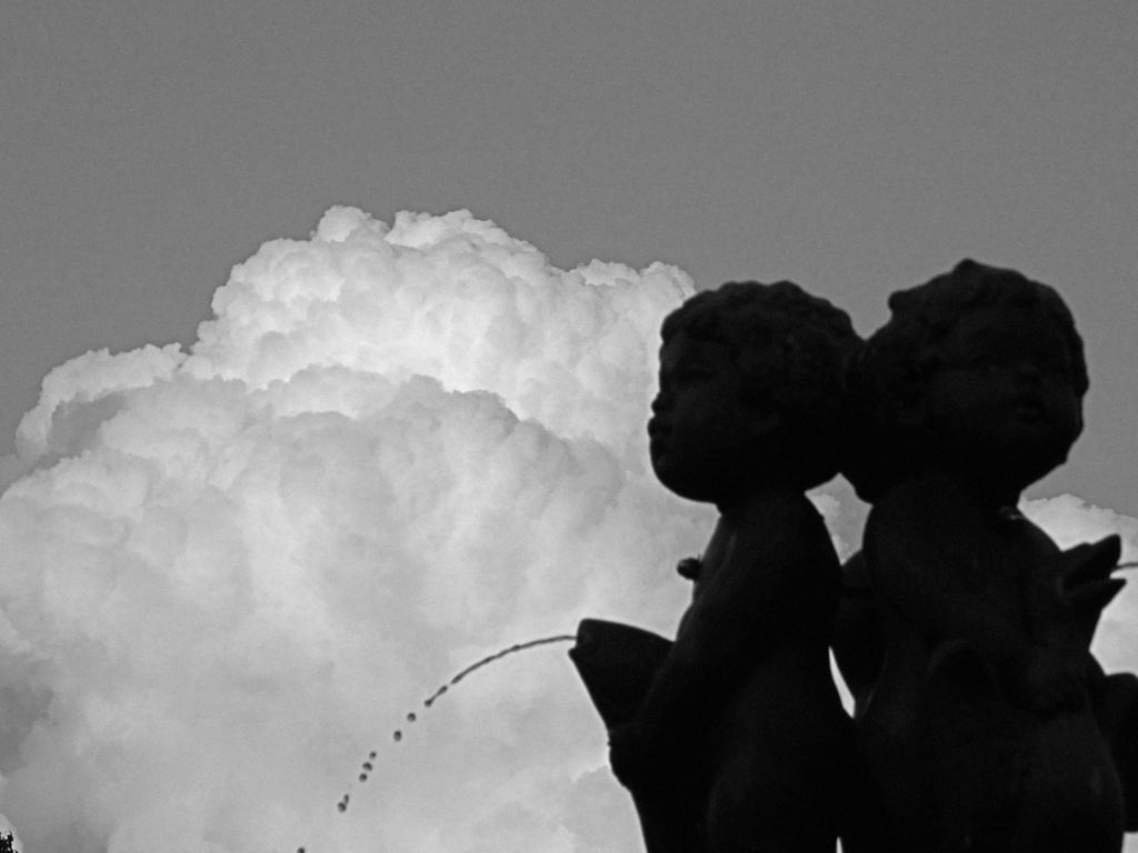 八月の入道雲