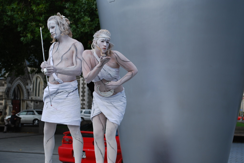 a street performance