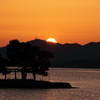 夕日 宍道湖