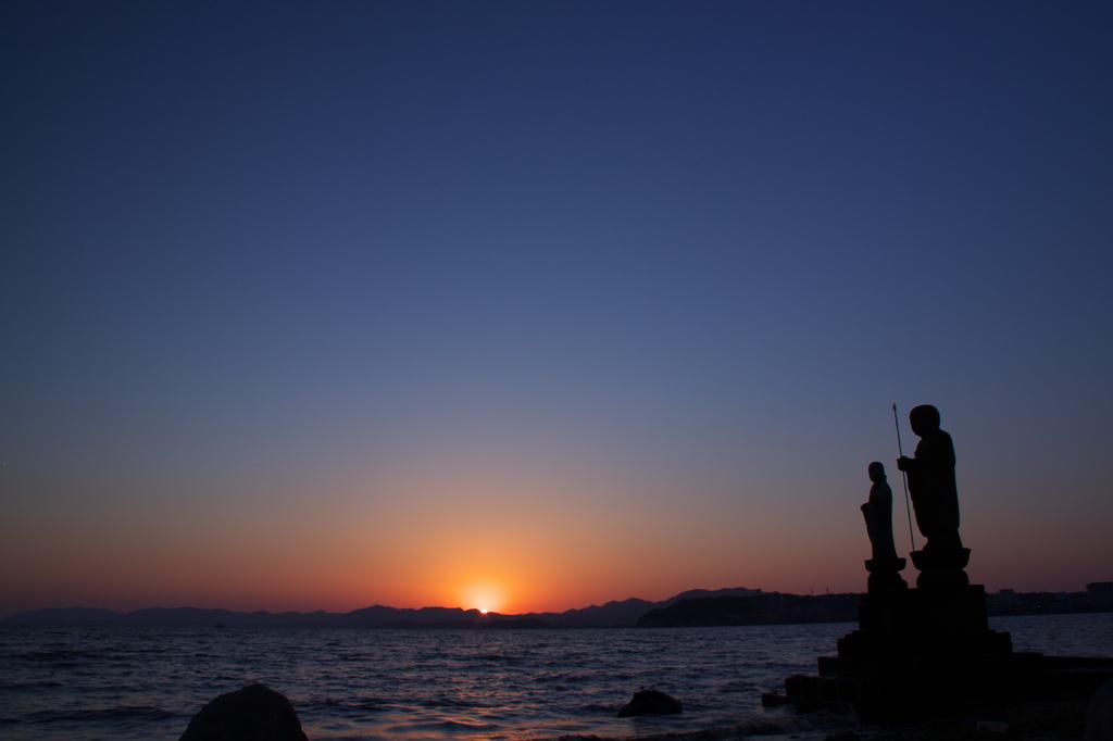宍道湖 夕景