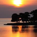 CANON Canon EOS 50Dで撮影した風景(宍道湖の夕景 2月24日)の写真(画像)