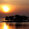 宍道湖の夕景 2月24日