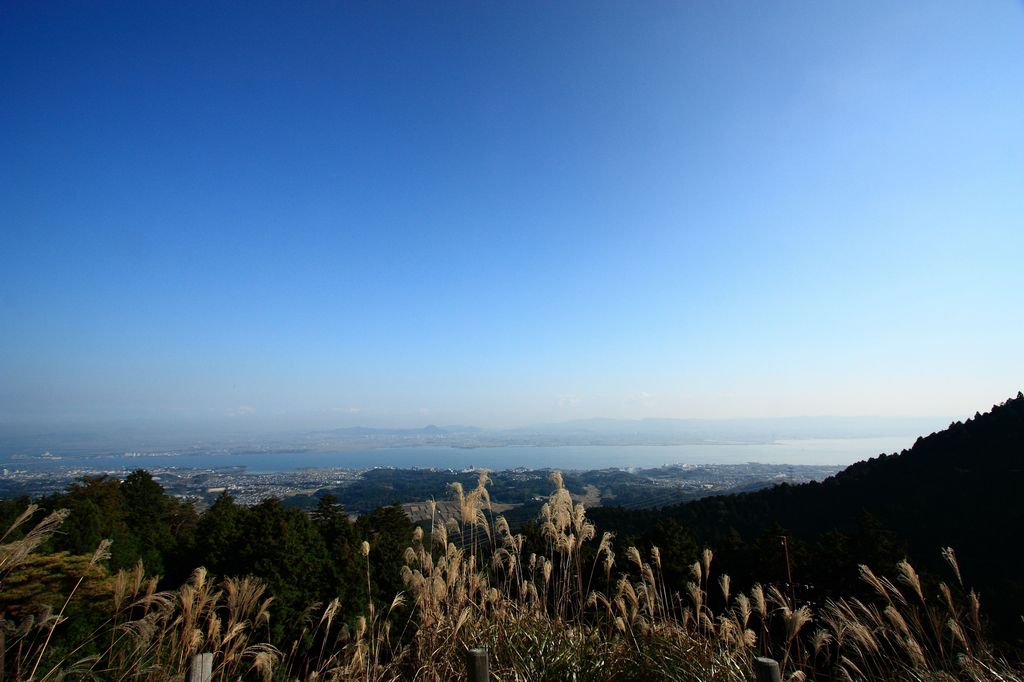 奥比叡からの琵琶湖