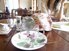 お茶の時間のですよ。