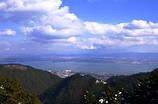 比叡山から。