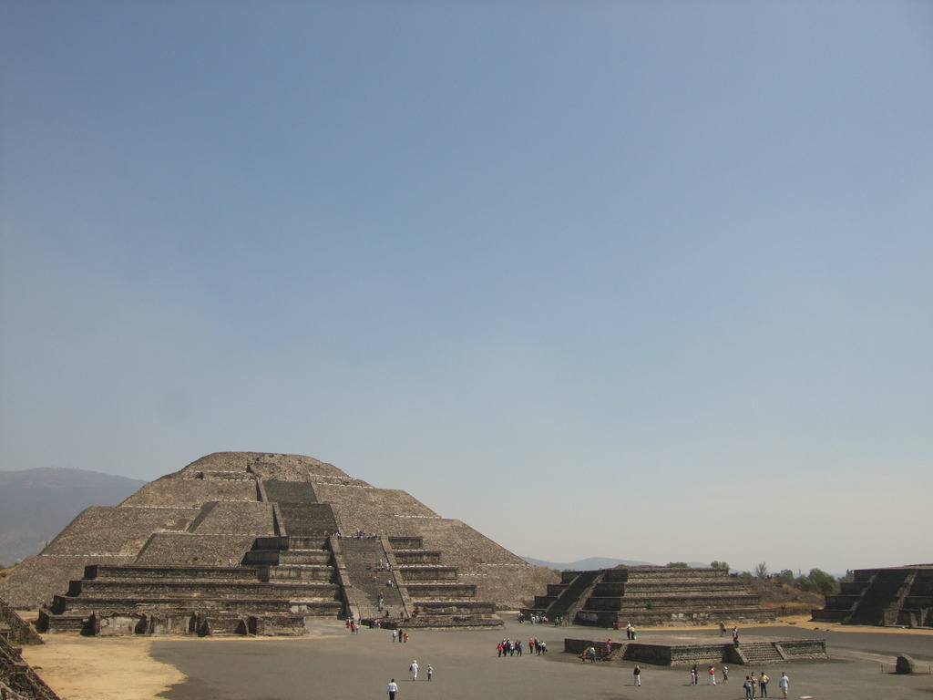 The Moon Pyramid in Mexico