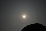 真夜中の月です