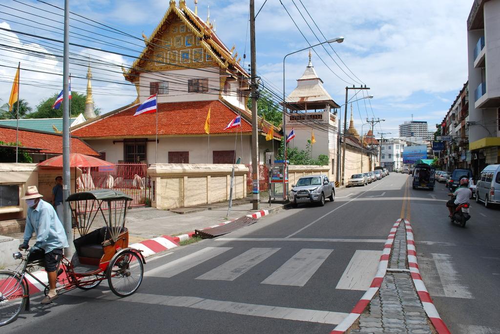 タイ チェンマイのよくある風景