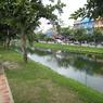 CANON Canon IXY DIGITAL 900 ISで撮影した風景(この川で泳いではいけません)の写真(画像)