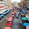 NIKON NIKON D60で撮影した風景(ワロロット市場)の写真(画像)