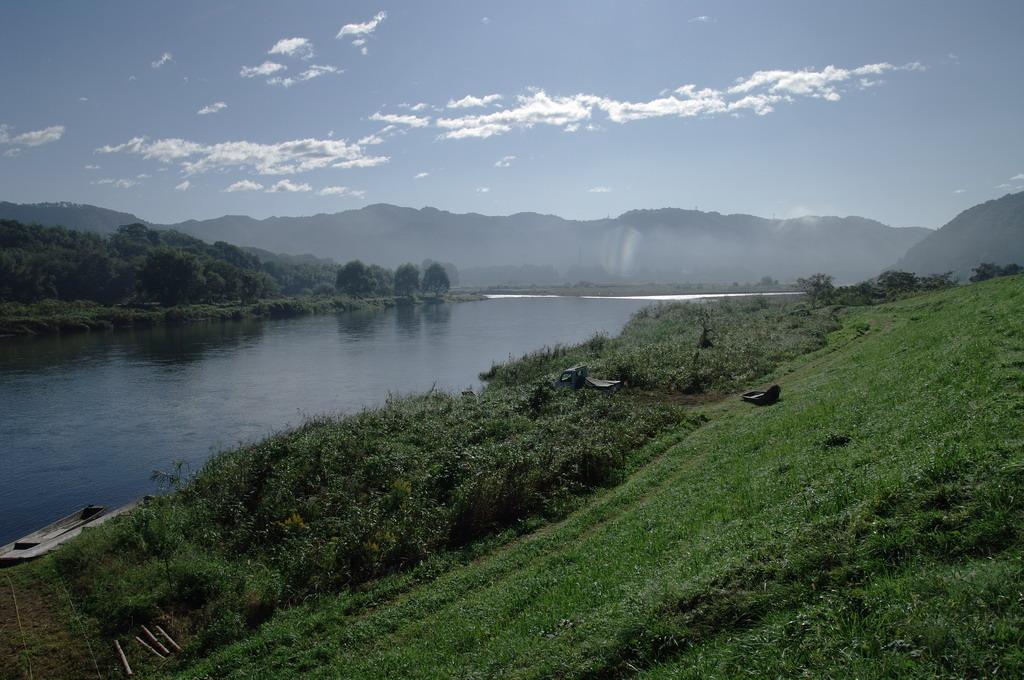 秋の那珂川