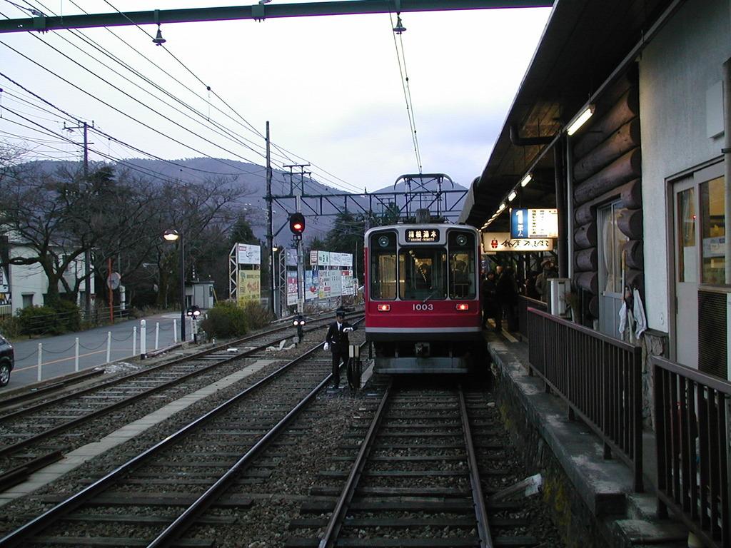 強羅駅鉄道線