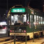 FUJIFILM FinePix T300で撮影した(夜の札幌市電)の写真(画像)