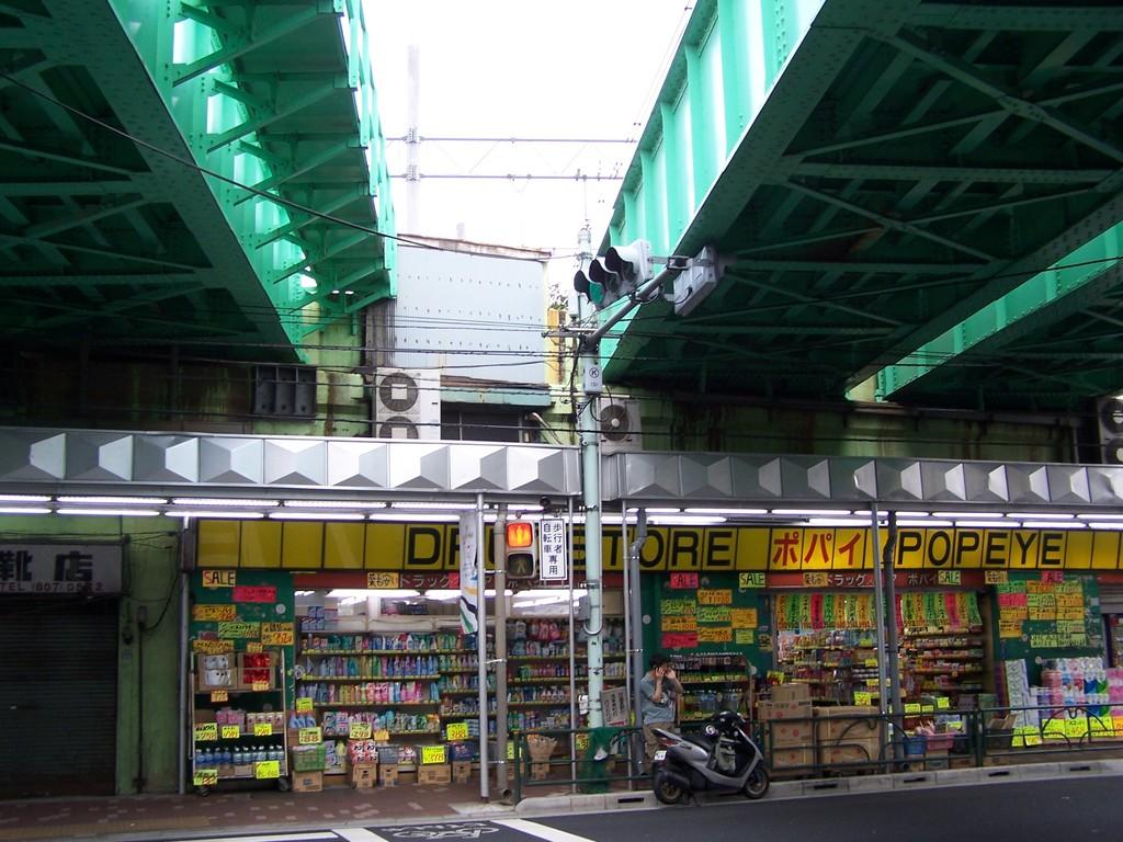 三河島駅ガード下