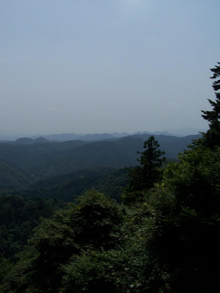 高尾山から