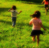 草原running