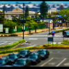 Tenri city miniature mode