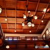 木造の天井@奈良ホテル