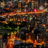 大阪夜景173mより2/HDR