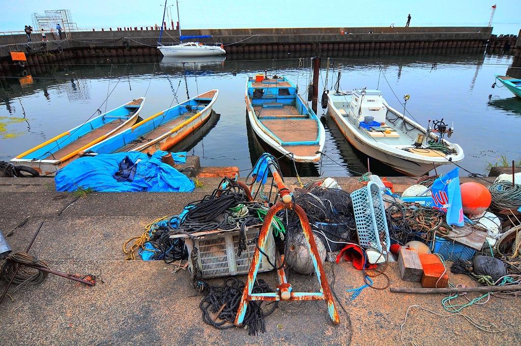 近江今津 漁港